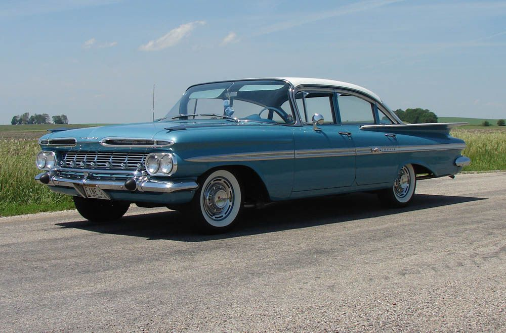 My First Car A 1959 Chevrolet Belair Four Door Sedan With Images Chevrolet Impala Classic Cars Chevrolet