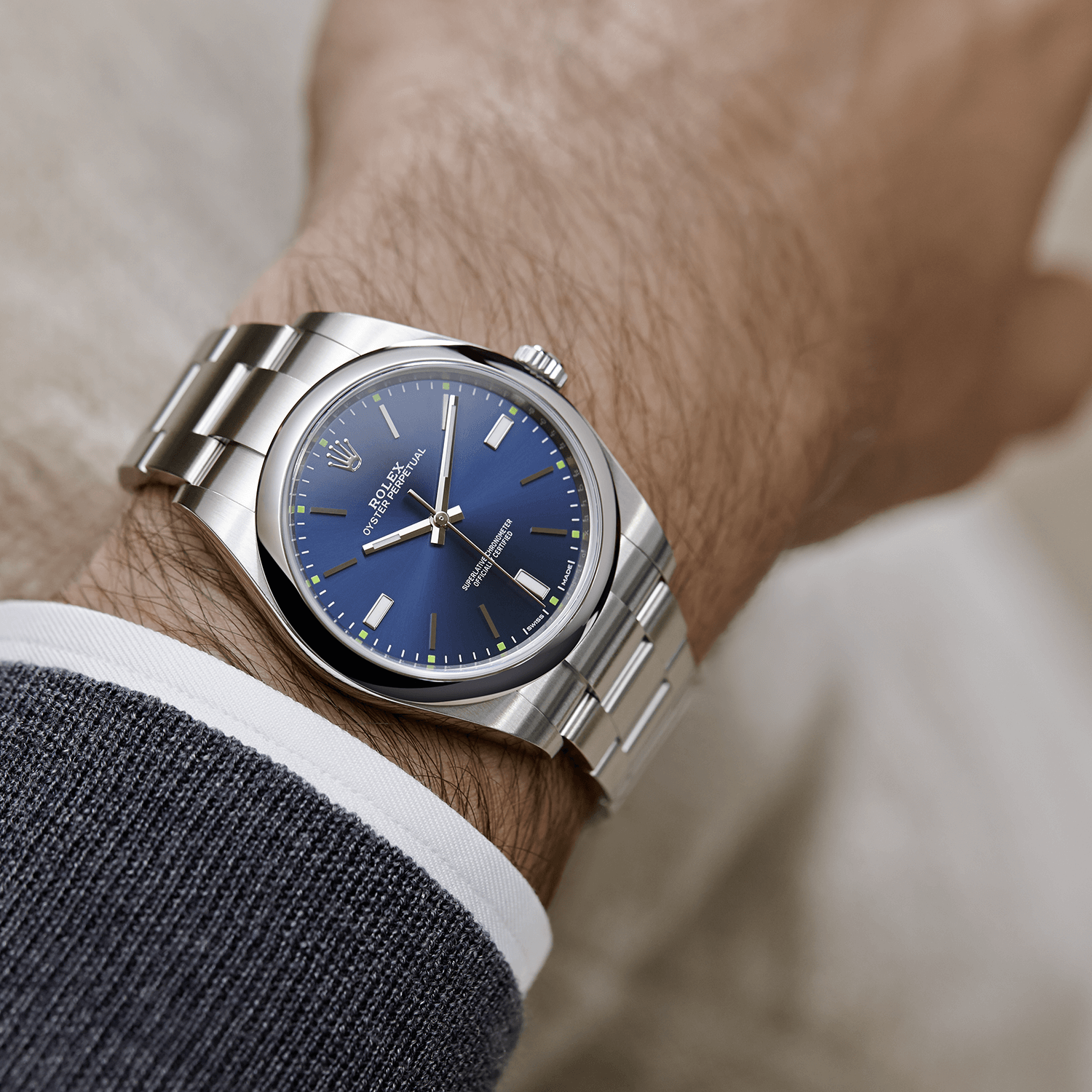 b5d663faf04 The Rolex Oyster Perpetual 39 in Oystersteel