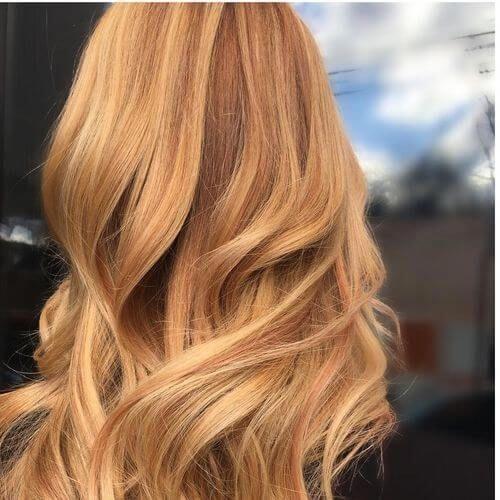 21 Yummiest Strawberry Blonde Haarfarben für 2019!
