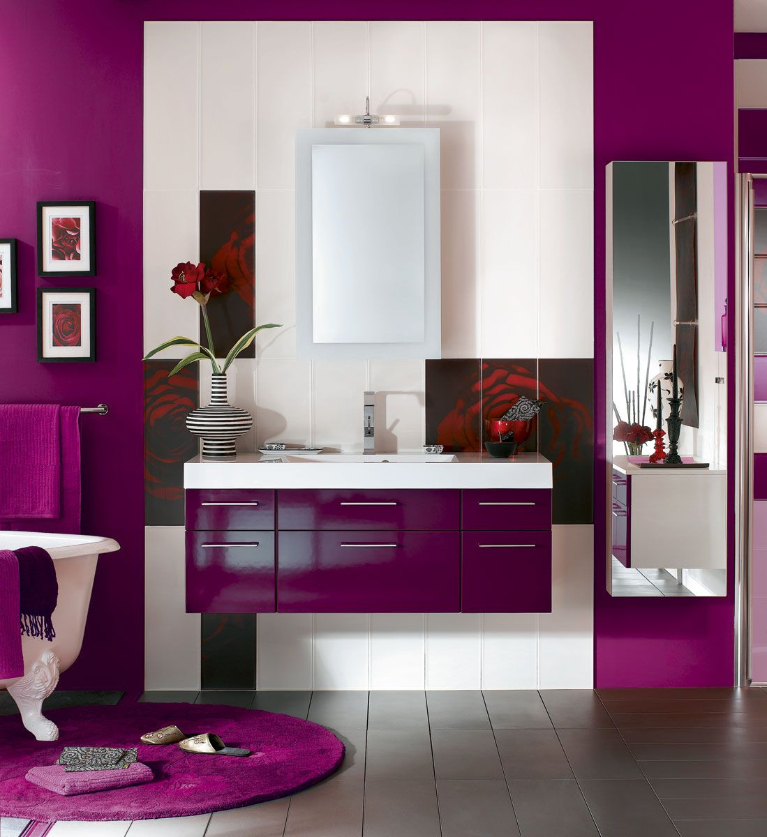 Lifestyle #Violet #radiantorchid #Purple | #Decoration_interieur ...
