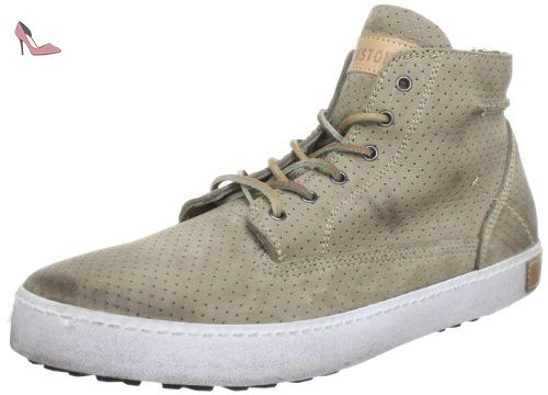 04b1cd391c157 Blackstone FM23, Baskets mode homme - Beige (Taupe), 46 EU - Chaussures