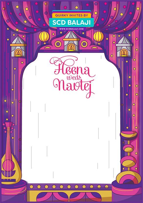 Creative Indian Wedding Invitation Envelope Cover Design designed by ...