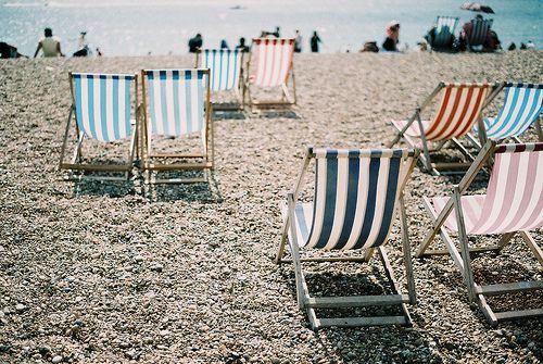 Beach Chairs British Seaside