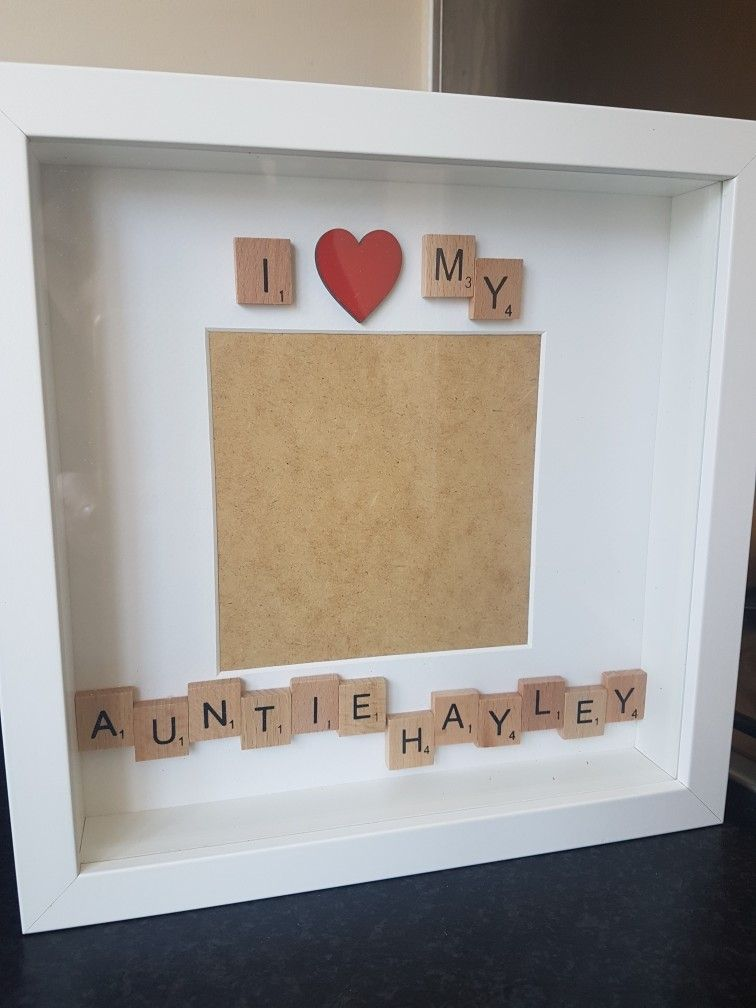 I My Personalised Frames Personalise For The Recipient Auntie Uncle Mum Dad Grandpa Gr Personalised Gifts Handmade Personalised Frames Box Frames