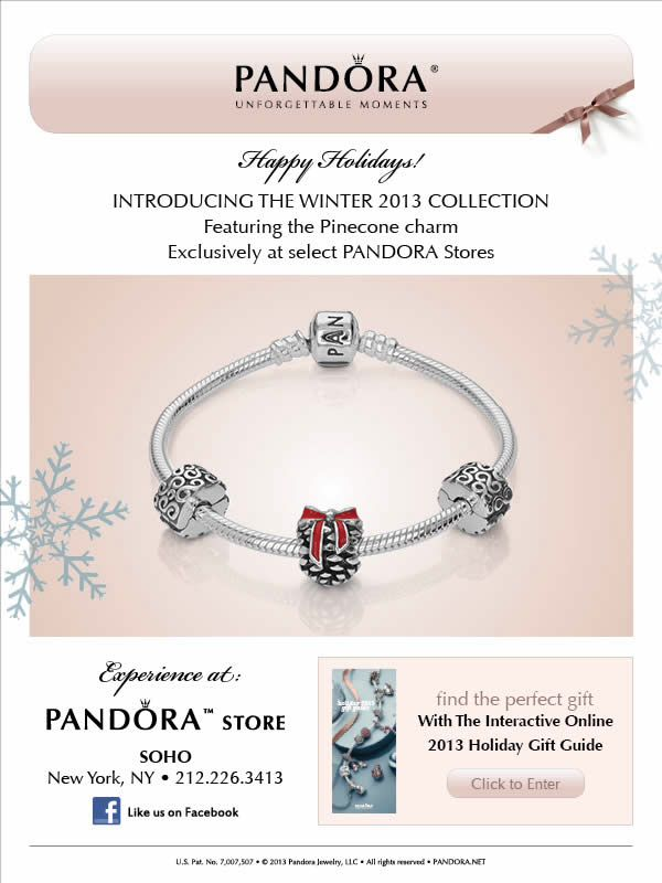 pandora bracelets locations nyc store
