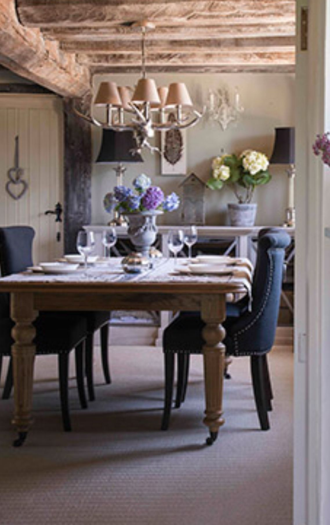 Pin By G On Small Cottage Ideas Beautiful Dining Rooms French Country Dining French Farmhouse Table