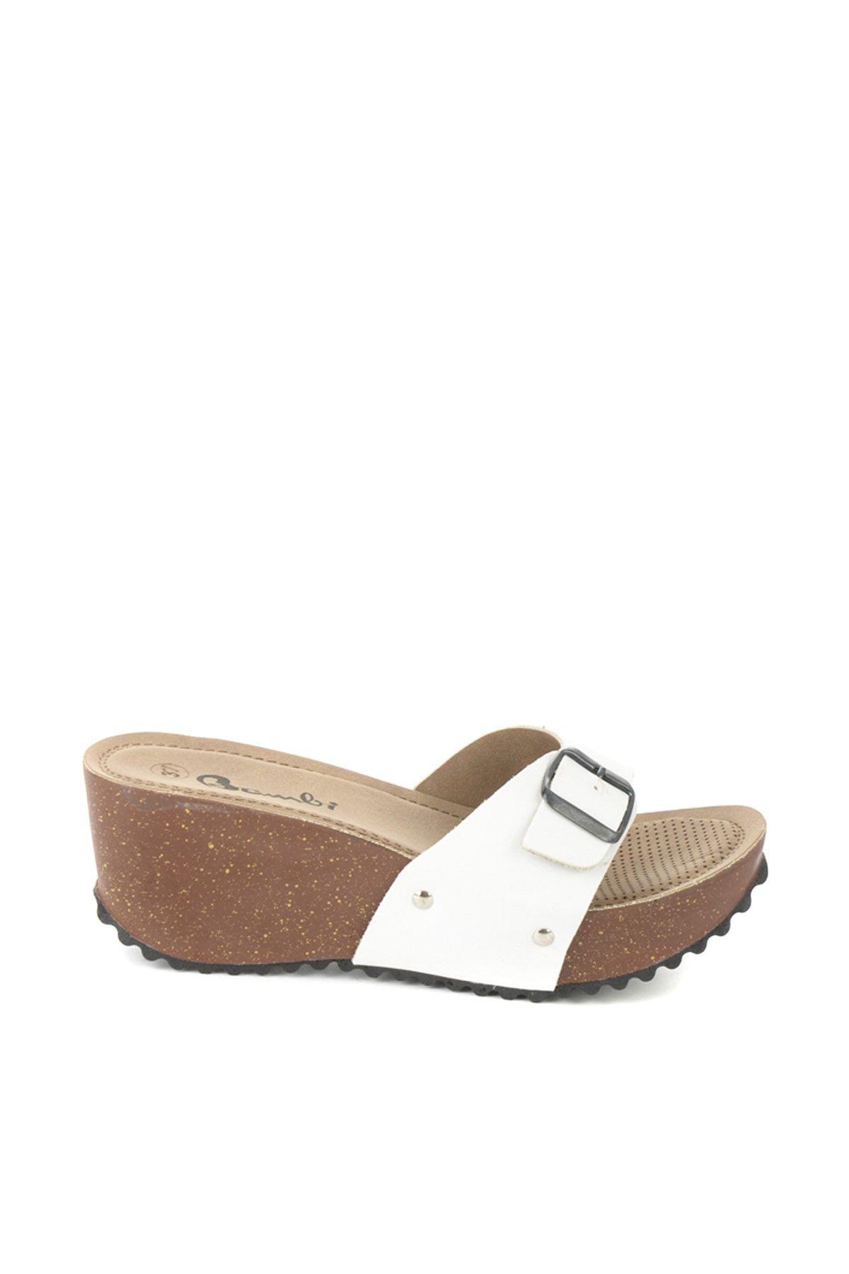 Beyaz Terlik B0803279109 Terlik Trendler Ayakkabilar