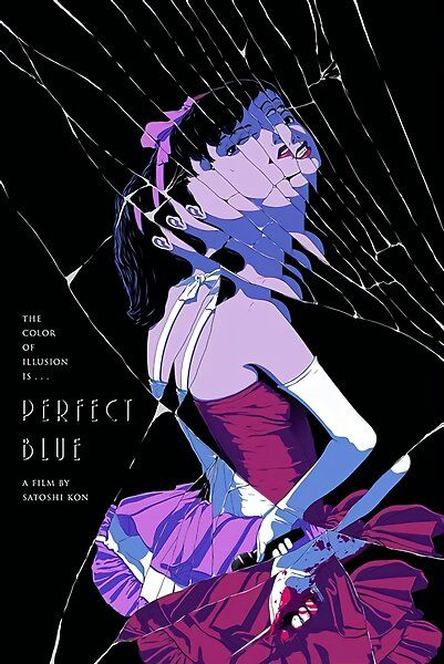 Perfect Blue poster by dinosoris   Redbubble