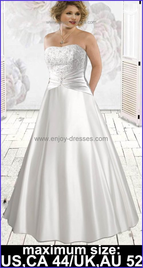Plus Size Wedding Dresses With Half Sleeves Maximum Sizecanadaus