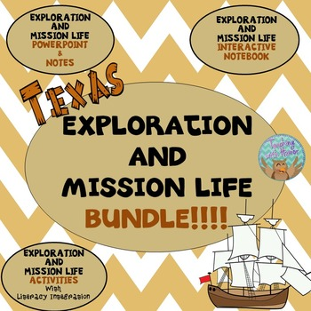 Photo of Exploration and Mission Life (in Texas) **BUNDLE**