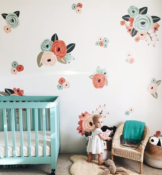 Babyletto Wall Decals In Bloom