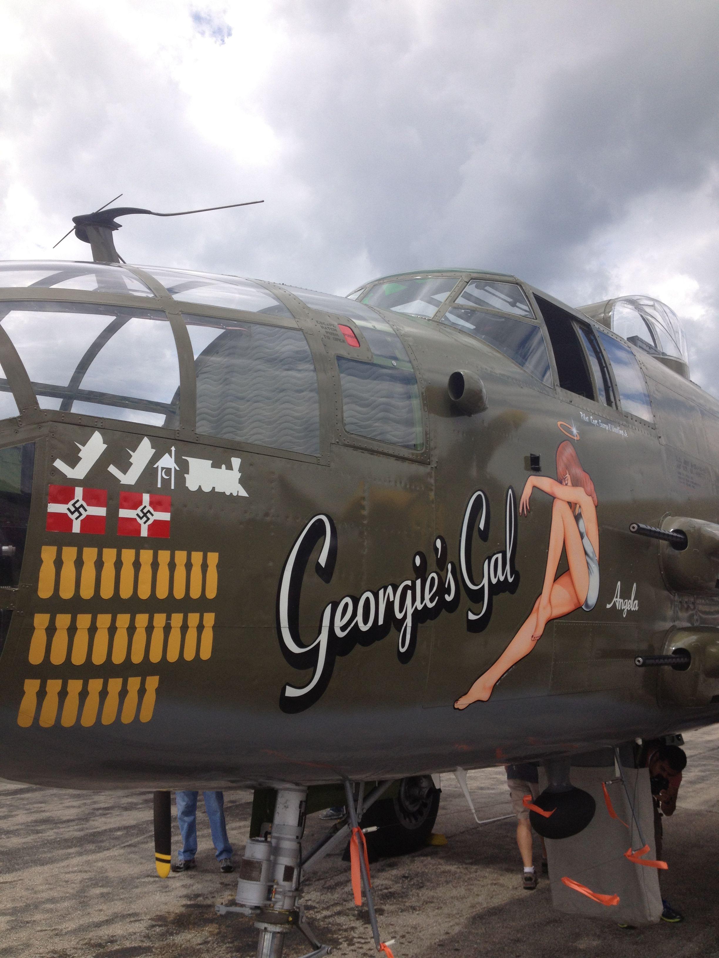 Gal at the Yankee Air Museum at Willow Run