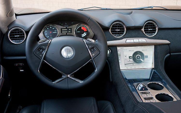 Fisker Car Interior