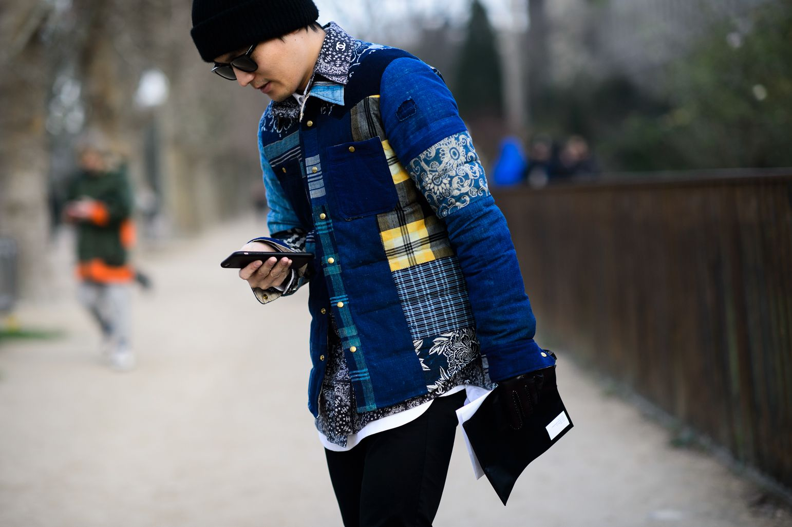 Paris Men's Fashion Week Fall 2015  - Paris Men's Fashion Week Fall 2015 Street Style Day 3-Wmag