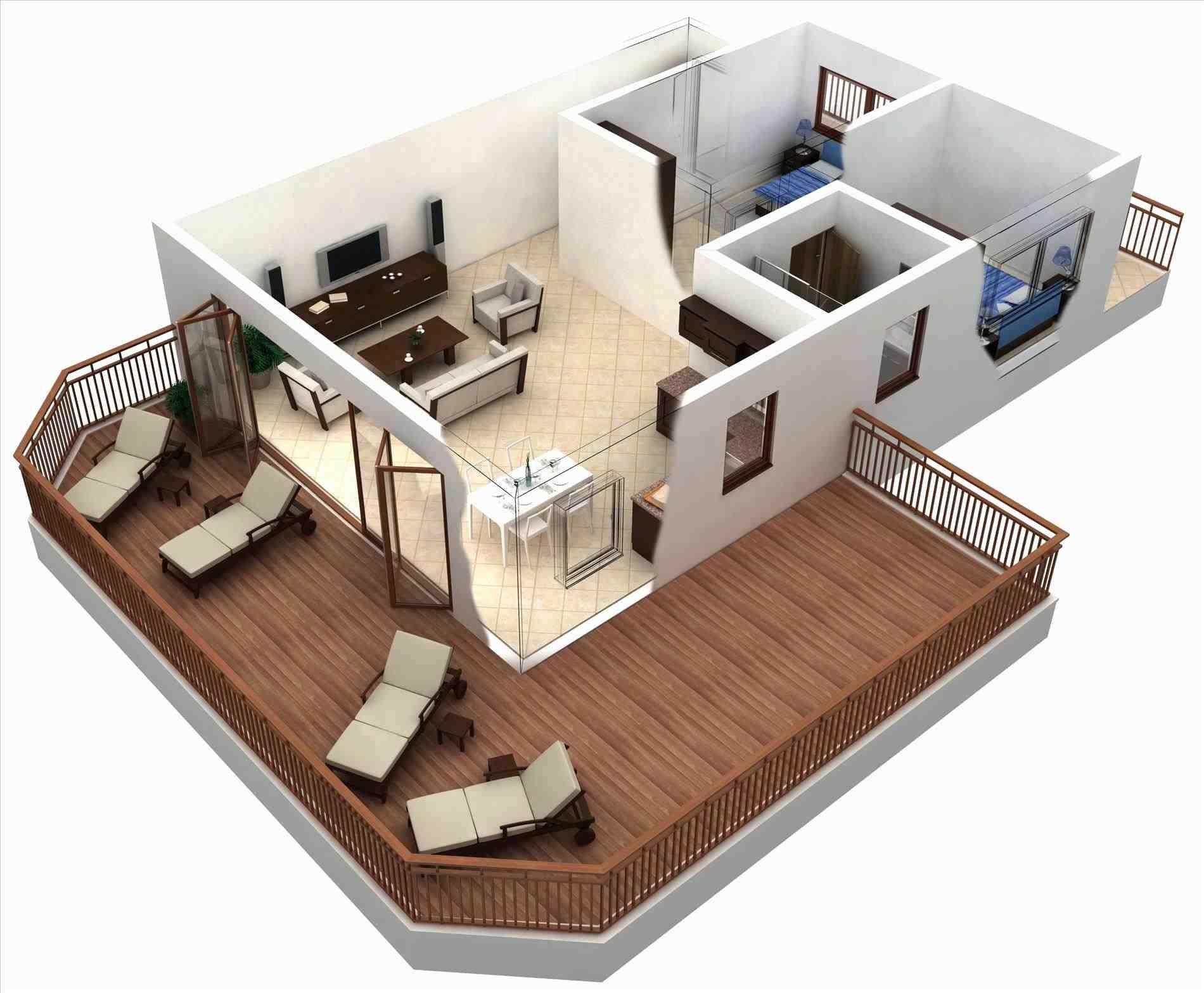 apartment plans 2 bedroom 3d hanneman holiday residence