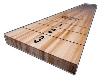 Shuffleboard Facts Mcclure Tables Shuffleboard Wood Facts