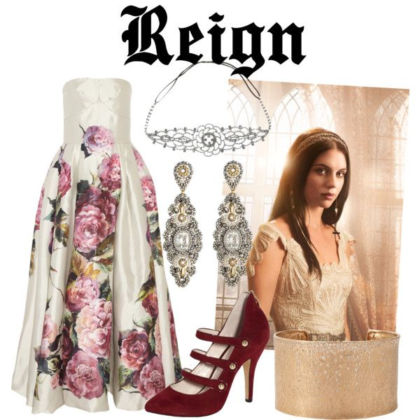 """""""get the look - reign"""" by onceuponanovel on Polyvore"""