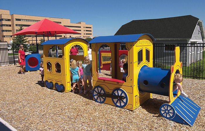 Adorable Train Playground,