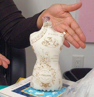 How to make a dressform pincushion ...