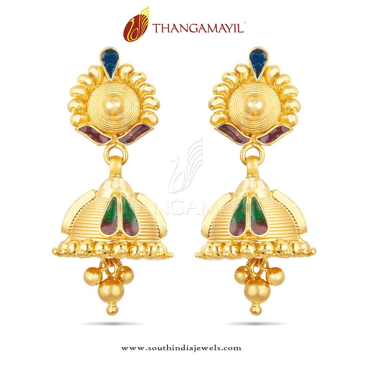 Beautiful Gold Jhumka Design | Models, Gold and Collection