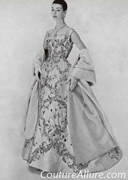 Vestidos de noite Vintage - 1955 Pierre Balmain