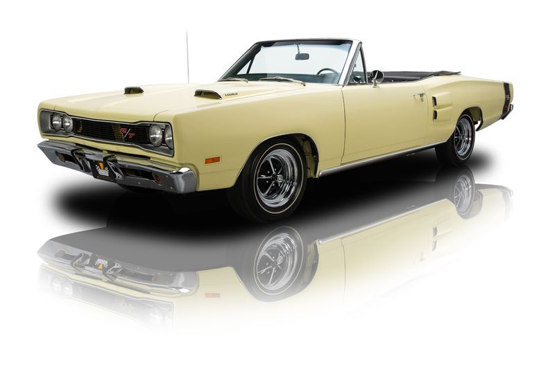 1969 Dodge Coronet RT Yellow  American Muscle Car Connection