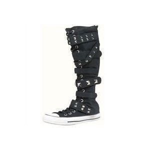 converse combat boots x hi