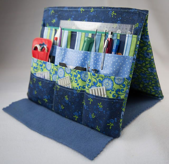 Tooly Organizer Pattern--folds Flat For Travel!