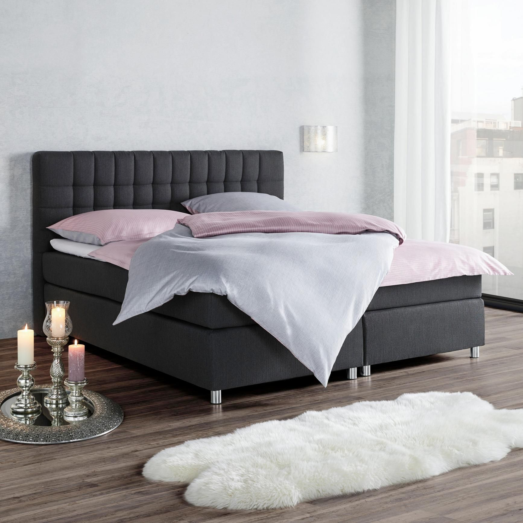 Lampe Schlafzimmer Mömax Boxspringbett Tom Ca 180x200cm Inkl Topper In 2019 Home Living