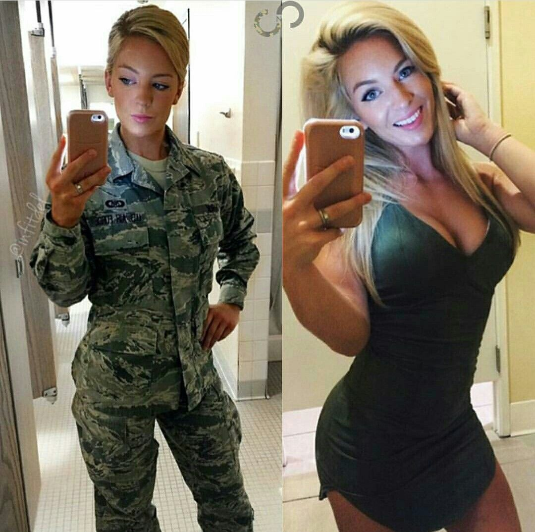 Check Out 50 Hottest Babes Of The Us Military  Police -1297