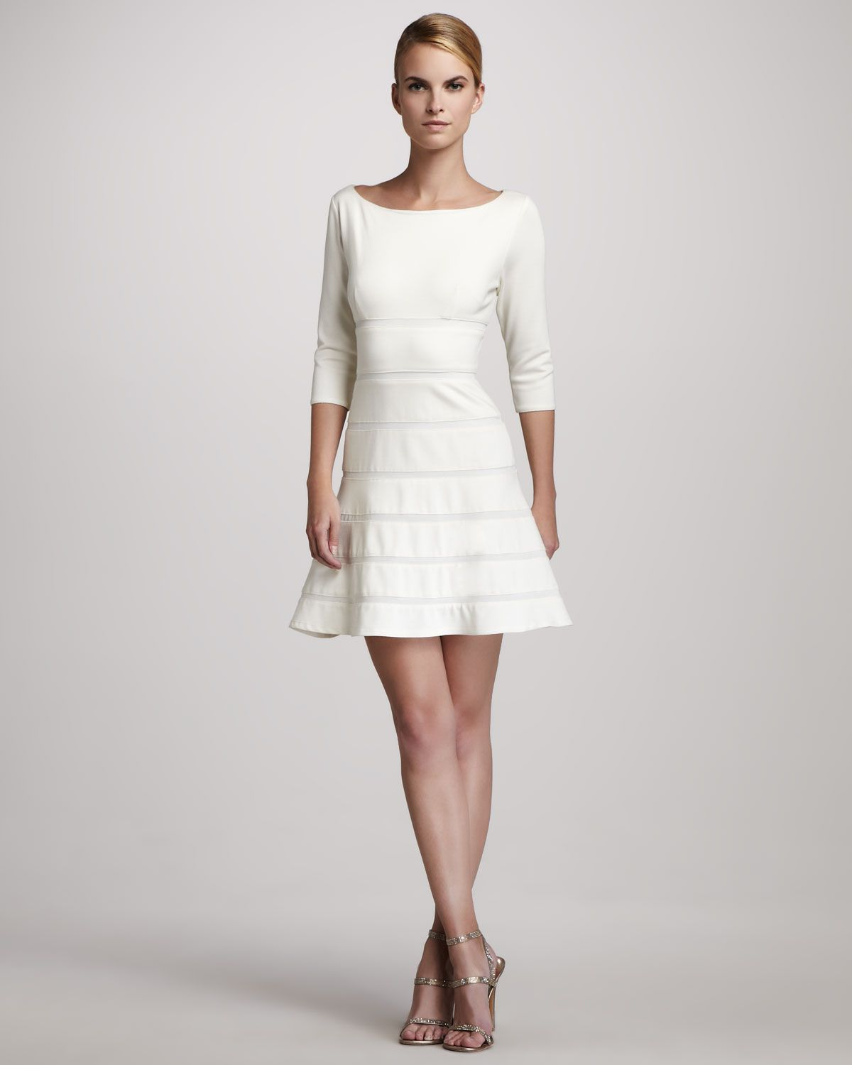Erin Fetherston Banded A-Line Dress - Neiman Marcus | Sewing ...
