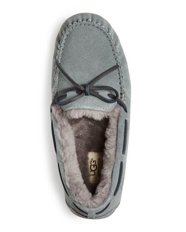 1ba2ae3c1e5 UGG® Australia Olsen Suede Moccasin Slippers | Bloomingdale's ...