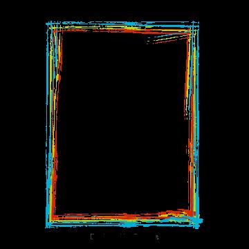 Vector Color Inkjet Border Png And Psd Color Color Splash Clip Art