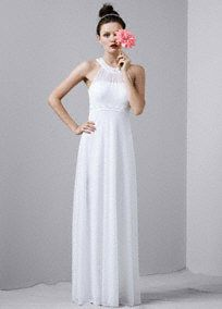 Beautiful and Stylish A Line Wedding Gowns and Dresses by David's Bridal....  Drool worthy
