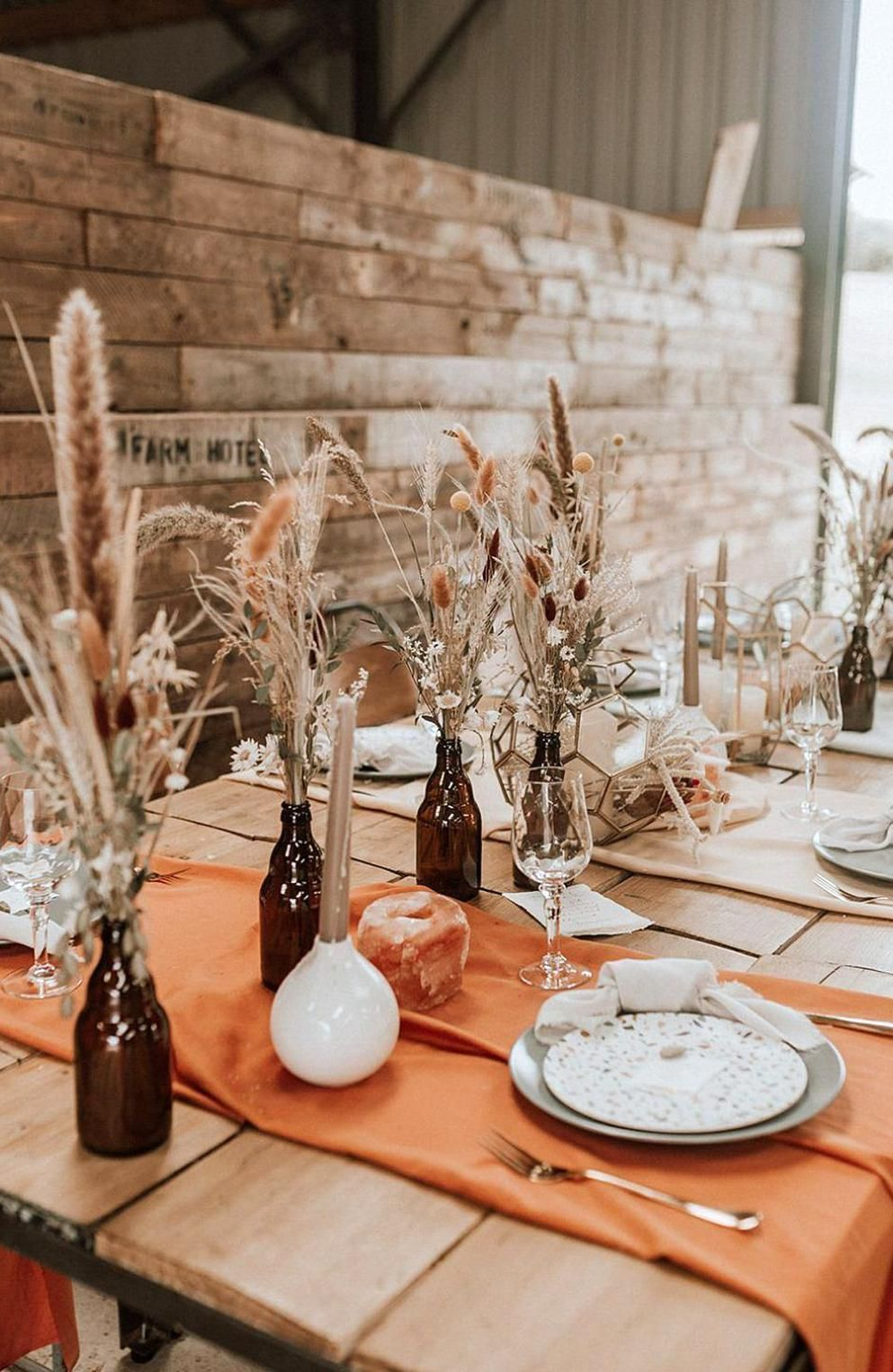 A styled wedding shoot inspired by the Australian Boho