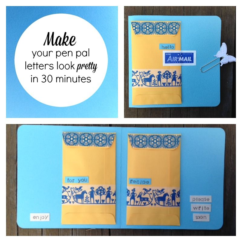 Diy tutorial make your pen pal letters look pretty snail mail diy tutorial make your pen pal letters look pretty thecheapjerseys Images