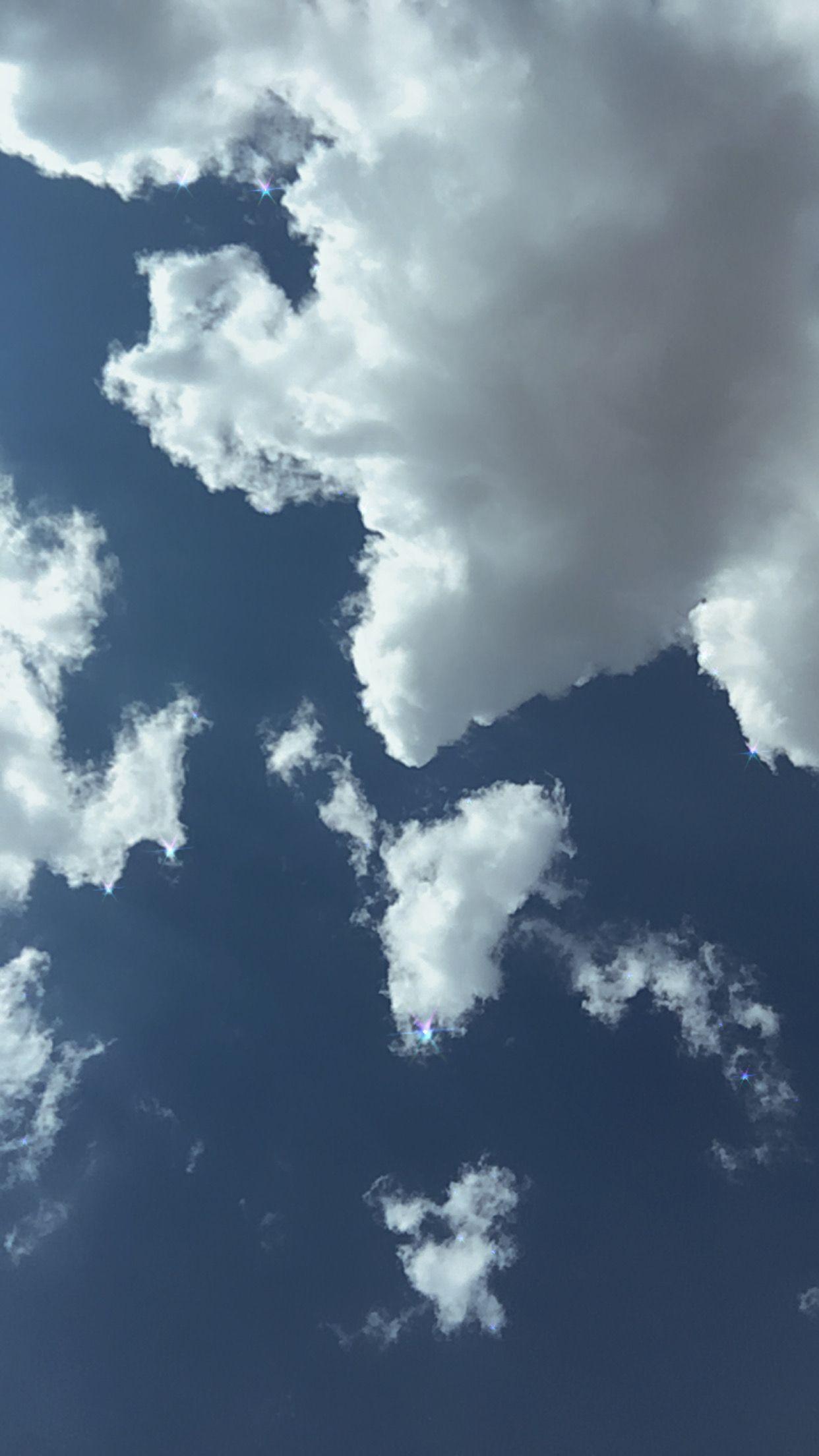 Sky Blue Aesthetic Wallpaper Dark Blue Wallpaper Blue Sky Wallpaper Sky Aesthetic Aesthetic dark blue sky wallpaper