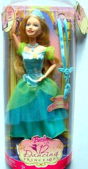 Barbie 12 dancing princesses princess delia doll new films - Barbie 12 princesse ...