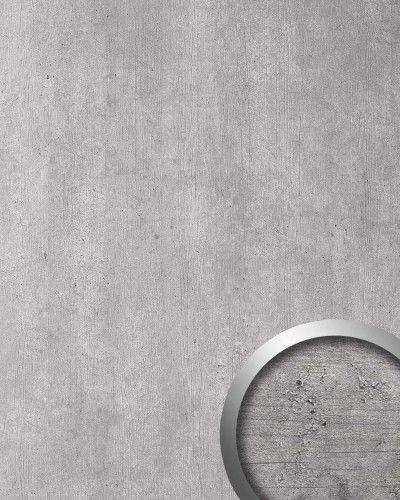 Wandpaneel Beton Optik WallFace 19091 CEMENT LIGHT Stein