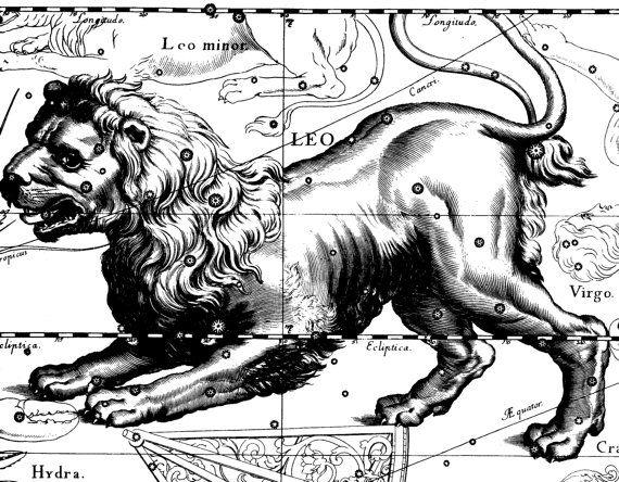 Constellation Star map Zodiac horoscope 101 от AstrologyZodiac, $10.99