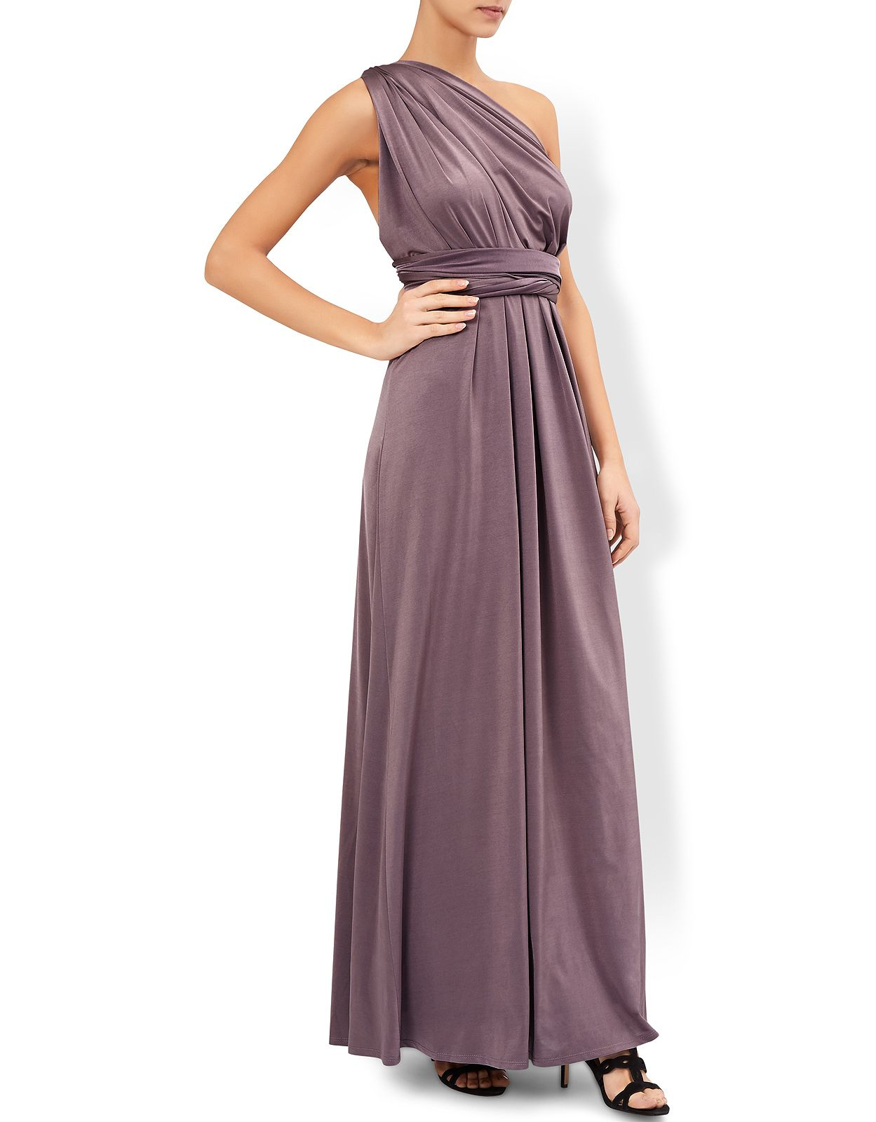 Twist me tie me our garland occasion maxi dress has two sashes twist me tie me our garland occasion maxi dress has two sashes that can be tied in 15 different ways creating bespoke looks to suit any shape ombrellifo Choice Image