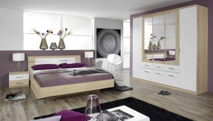 Schlafzimmer modern Holz weiß - Möbel Mit www.moebelmit.de ...
