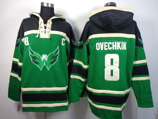 0ea6062c ... Hockey Washington Capitals 8 Alex OVECHKIN St. Patrick's Day McNary  Lace Hoodie - Kelly Green [Hooded Sweatshirt 123] - $69.95 : Cheap Hockey  Jerseys