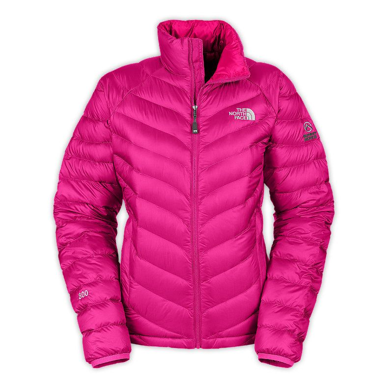 The North Face Thunder Jacket Pink 800 Fill Down Jackets discount prices