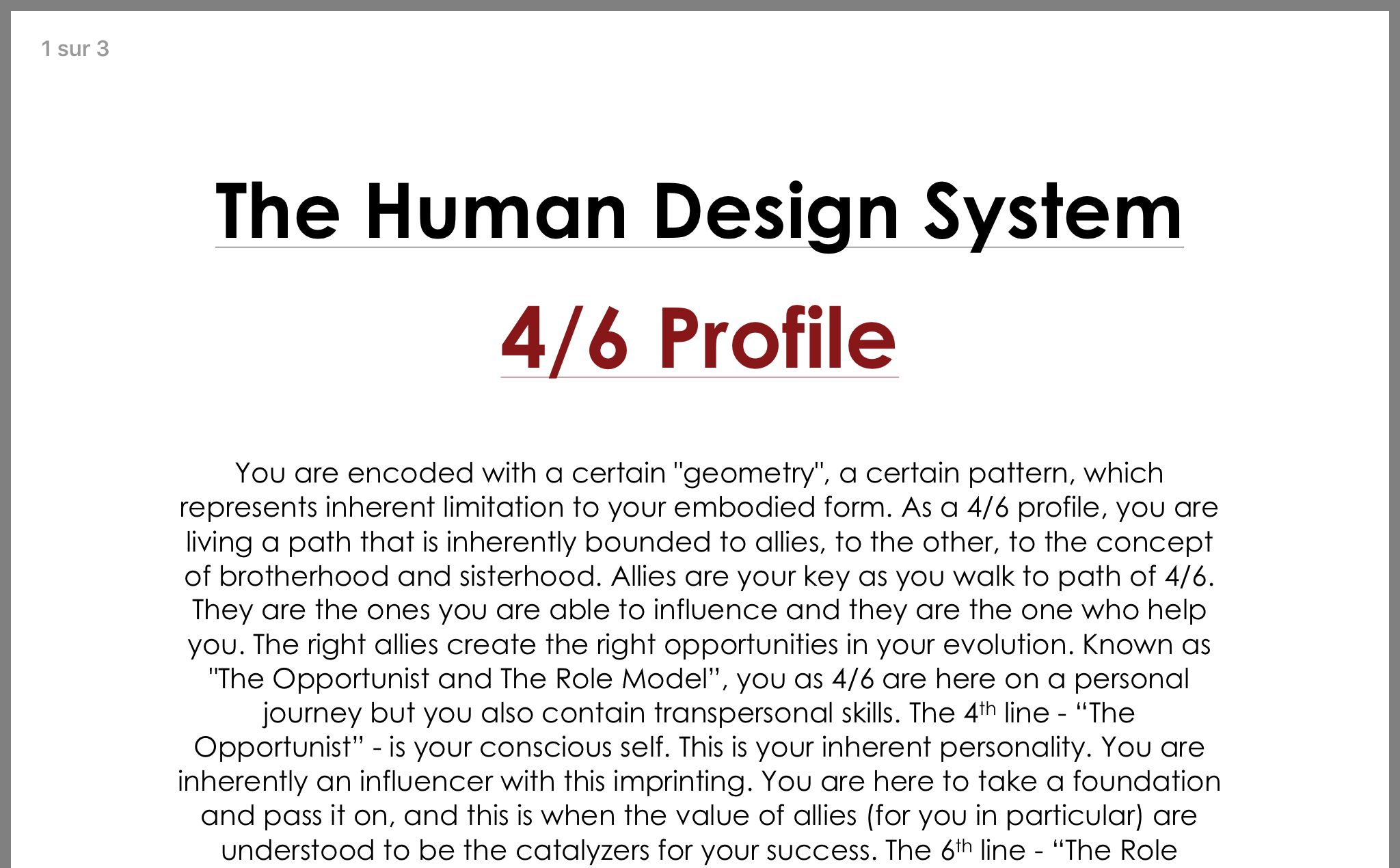 Human Design Profile 4 6 Hermit Role Model Human Design Human Design System Human