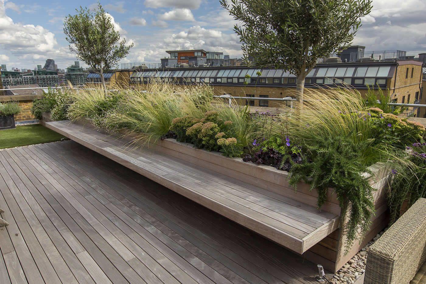 Pin By P On Roof Garden Artificial Garden Plants Garden