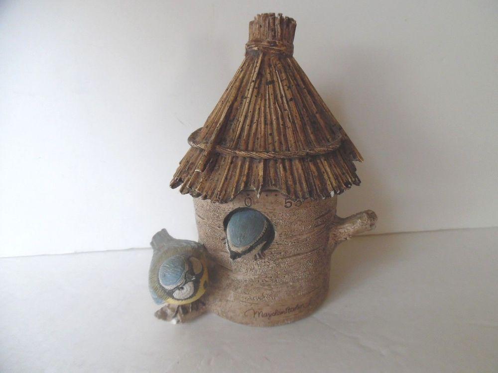 MARJOLEIN BASTIN Natures Sketchbook Bird KITCHEN TIMER Birdhouse (Hallmark) GC