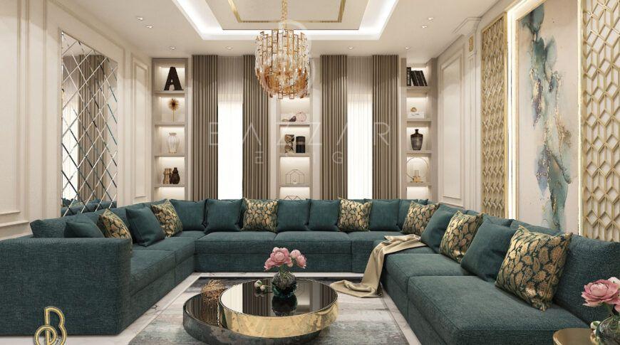 ديكورات مجالس نساء فخمة بازار للتصميم الداخلي و الديكور Home Design Living Room Living Room Decor Cozy Gold Living Room
