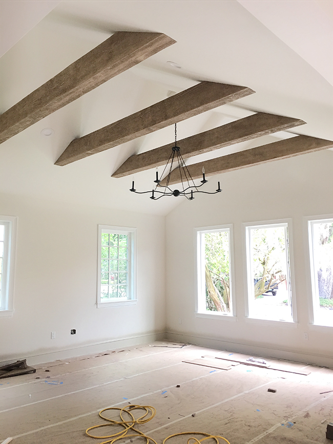 21 Collar Ties Ideas In 2021 Beams Living Room Vaulted Ceiling Living Room Wood Beams