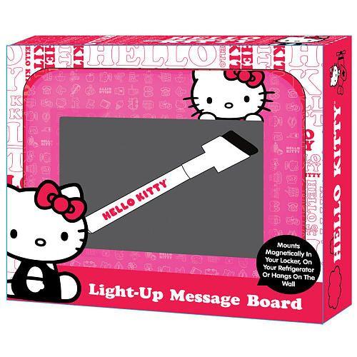 """Hello Kitty Light-up Message Board - Fuchsia - Sakar International - Toys """"R"""" Us"""